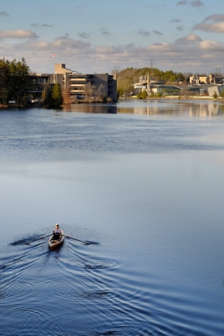 Canon FD 50mm - Fuji XT1 (Velvia) - Peterborough - Rowing in Trent Severn