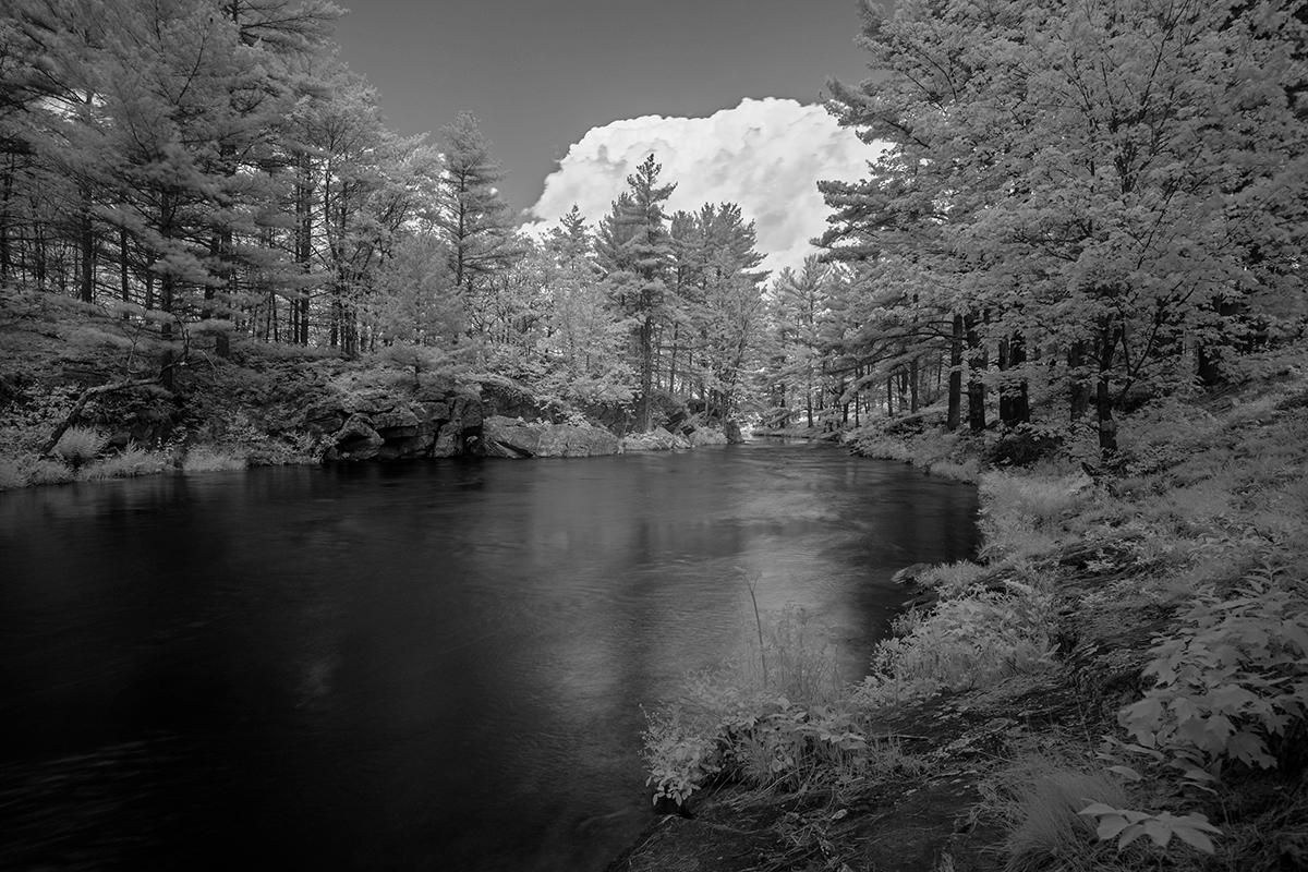 Fuji XT2 + 10-24/4 + 720nm IR Filter - Kawartha Highlands Park