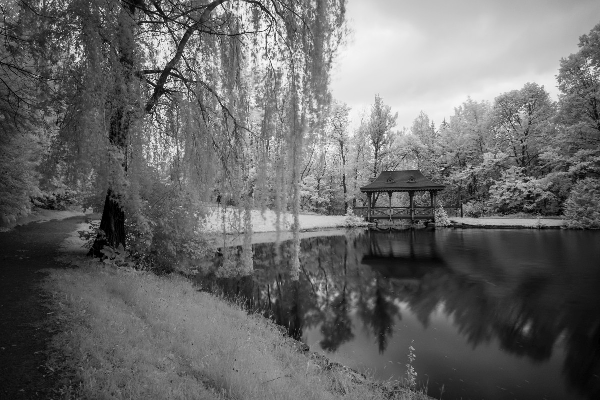 Fuji XT1 + 10-24/4 + 720nm IR Filter - Jackson Park, Peterborough