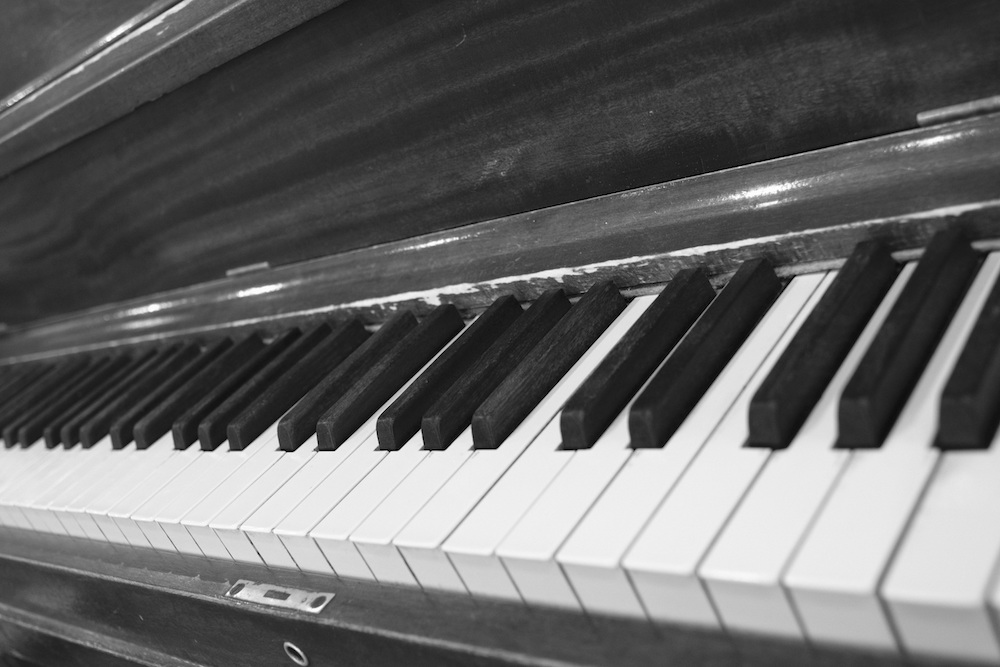 Canon FD 24mm F2.8 - Piano Keyboard