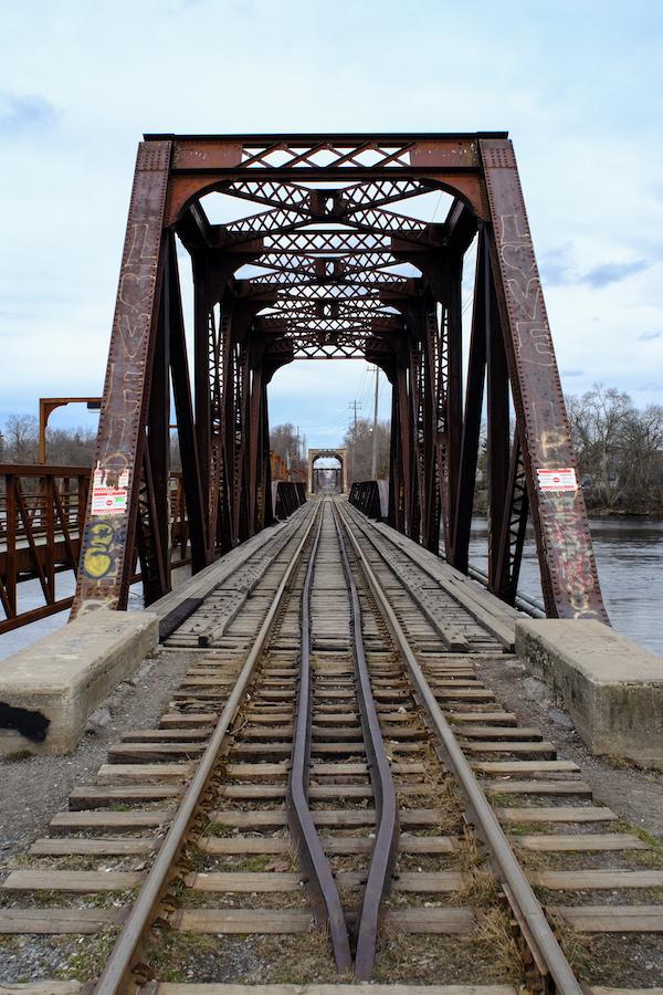 Canon FD 24mm F2.8 - Old Rail Bridge - Peterborough