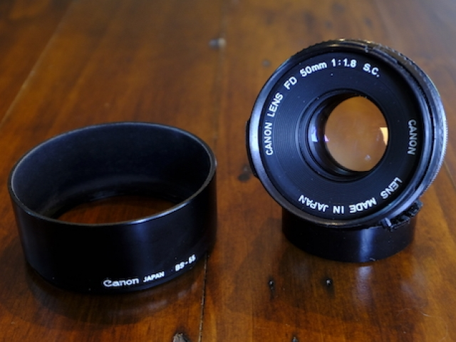 Canon FD 50mm F1.8 S.C.