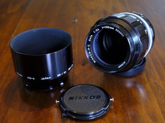 Nikkor 105mm F2.5