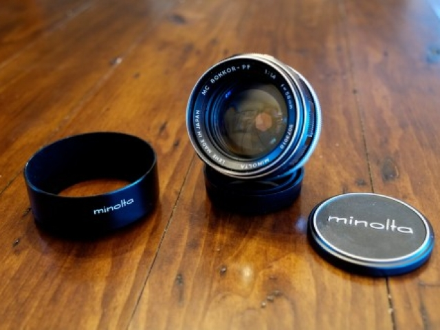 Minolta Rokkor 58mm F1.4